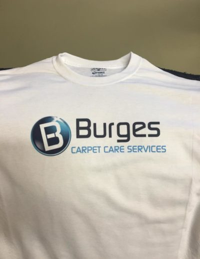 Burges Carpet Care Shirts