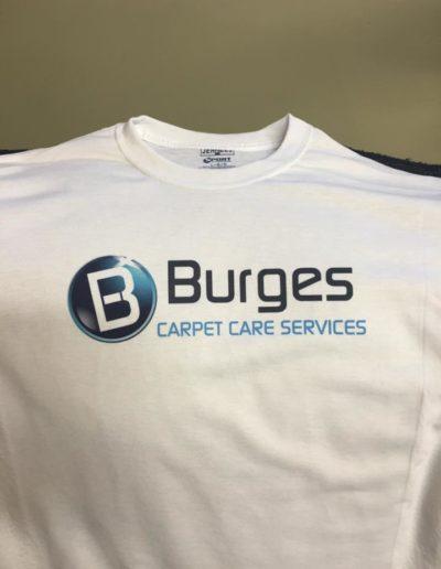 Burges Carpet Care Shirts