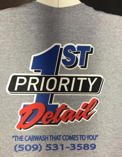 1st Priority Detail Carwash Shirts