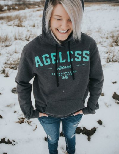 Ageless Apparel - custom brand t-shirts. Photo Credit: AgelessApparel.com (3)
