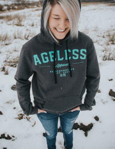 Ageless Apparel - custom brand t-shirts. Photo Credit: AgelessApparel.com (3)