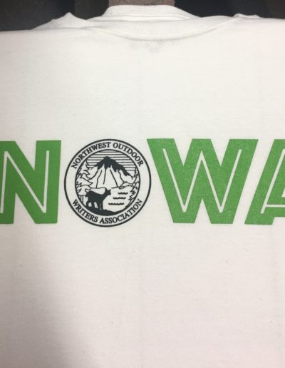 Northwest Outdoor Writers Association shirts