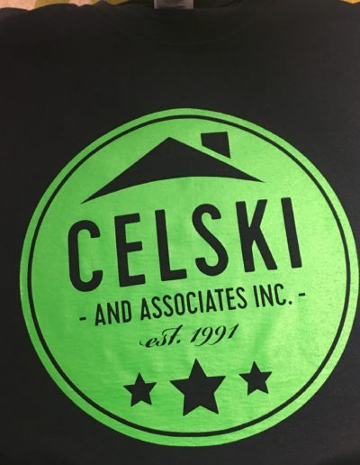 Celski & Associates t-shirts