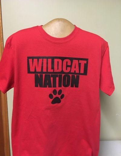 Wildcat Nation t-shirts