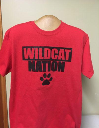 Wildcat Nation t-shirts