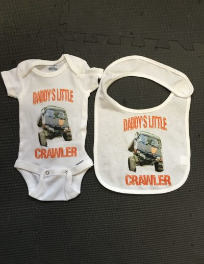 Custom Baby Onesie and Bib