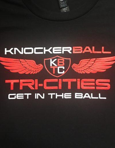 KnockerBall Tri-Cities t-shirts