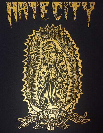 Hate City band t-shirts