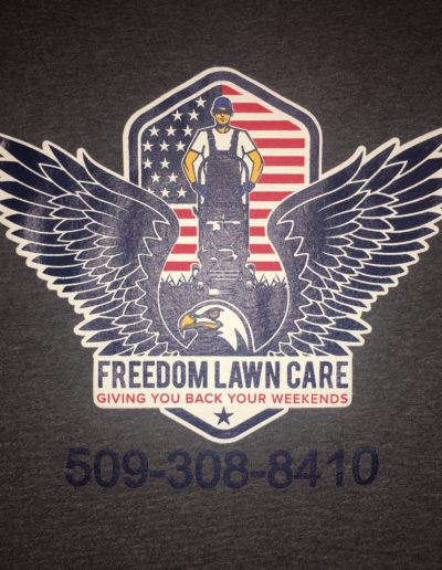 Freedom Lawn Care t-shirts