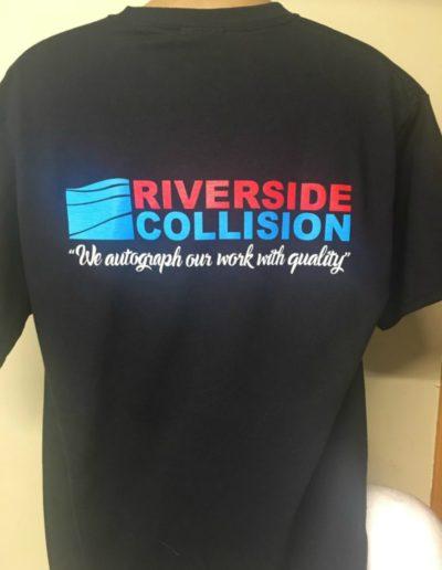 Riverside collision